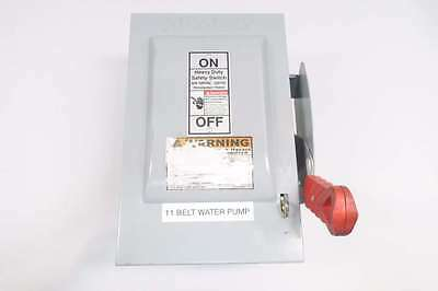 Siemens Hnf361 30A Amp 600V-Ac 3P Non-Fusible Disconnect Switch D550478
