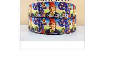 Willy Wonka and the Chocolate  Factory Ribbon Gene Wilder 1m