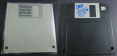 3M Verbatim Lot of 13 Blank Floppy Disc Disk 1.44 MB Double Sided High Density