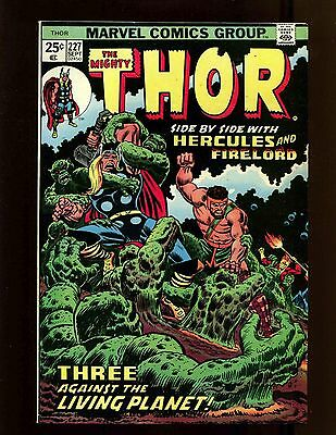 Thor #227 FNVF Buckler Hercules Galactus Firelord Sif Ego The Living Planet