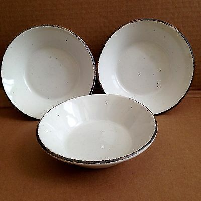 "NICE! (3) Midwinter STONEHENGE 'CREATION' 6.5"" Cereal Bowls"