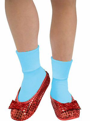 Dorothy Wizard of Oz Ruby Slippers Girls 6 - 10 Shoe Covers