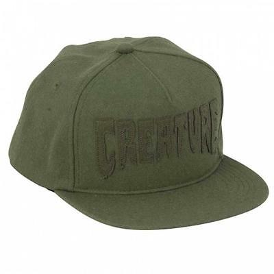 Creature Mole Hat Adjustable Size (Olive)