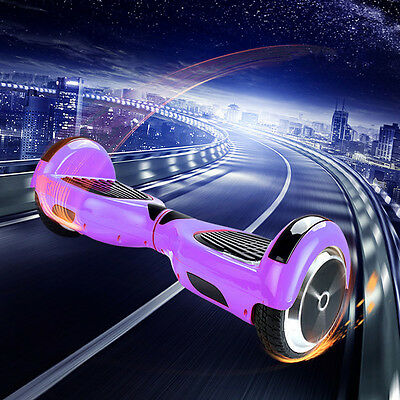"Purple 6.5"" Self Balancing Electric Scooter Hoverboard Shell Cover Case New"