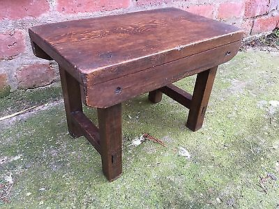 Antique  Pine  Childs Stool