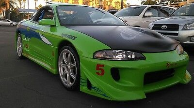 1996 Mitsubishi Eclipse Gs Fast and furious eclipse Paul walker tribute car