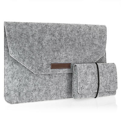 Macbook Air / Pro 13 Zoll Laptop Tasche aus Filz Sleeve Hülle Ultrabook