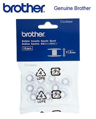 BROTHER SEWING MACHINE PLASTIC BOBBINS x10 (11.5) Fits all INNOVIS NV Innov-is