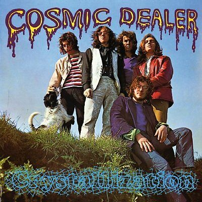 COSMIC DEALER - Crystallization - 2 LP (turqouse) Pseudonym