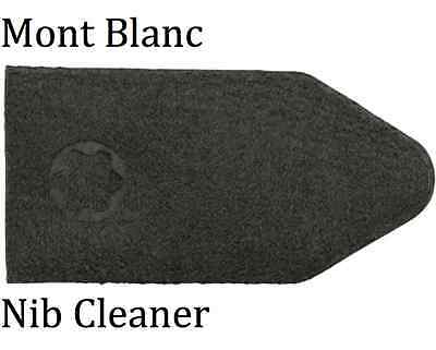 2 x Mont Blanc Nib Cleaner, Fountain Pen Ink Remover Pouch 100% Genuine Unused