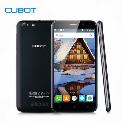 """CUBOT NOTE S Unlocked 3G Smartphone Android WiFi 2GB+16GB SW8.0MP 5.5""""--UK Stock"""