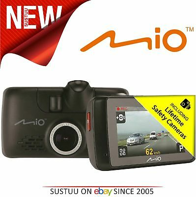 "Mio MiVue 658 WiFi Touch Car Dashcam GPS Screen 2.7"" 150° HDR Accident Recorder"