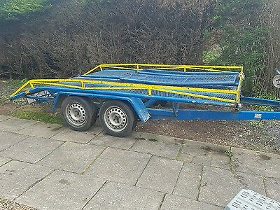 Car Trailer with Ramps