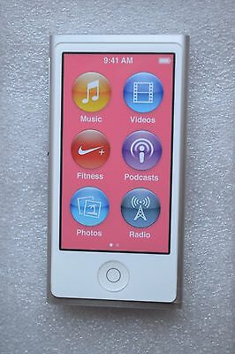 Apple iPod nano 7th Generation Silver 16GB (Latest Model) NEW ** iPOD ONLY**