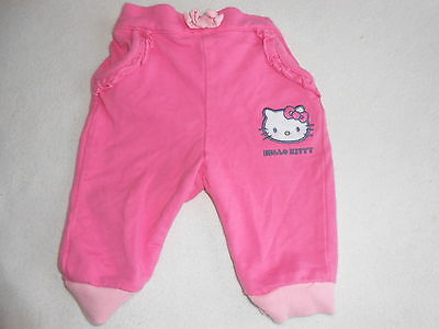 Baby Girls Clothes 0-3 Months - Cute Hello Kitty  Trousers - We Combine Postage
