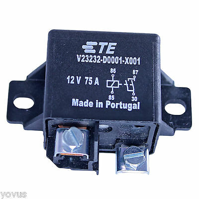 BOSCH TYCO TE AUTO RELAY 75 A AMP 12 V volt DC QUALITY HEAVY DUTY HIGH CURRENT