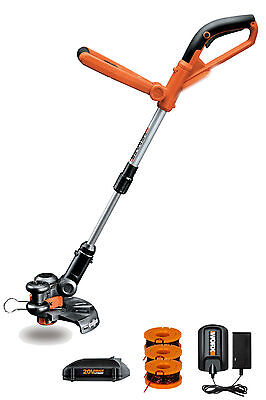 "WG155 WORX 10"" 20V Lithium GT Cordless 2-in-1 Grass Trimmer & Edger"