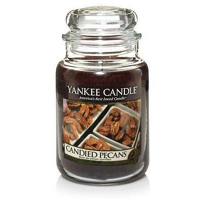 Yankee Candle Candied Pecans Large Jar Scented Candle