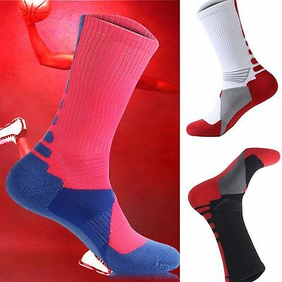 Men Breathable Professional Sport Socks Athletic Thicken Towel Basketball