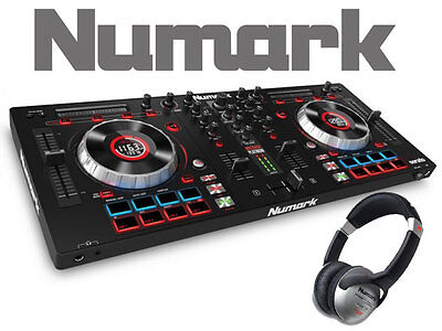 Numark Mixtrack Platinum - 4 Channel DJ Controller With SERATO FREE Headphones