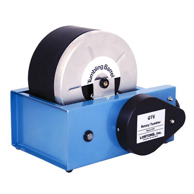 Lortone Rotary Rock Tumbler Model QT6 for polishing jewelry and stones