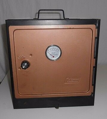 Vintage Coleman Folding Camp Camping Oven 5010A700   Rack, and original box