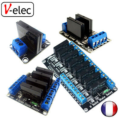 1075# (low level trigger) 5V Solid State Relay Module 1, 2, 4, 8 channel SSR AVR