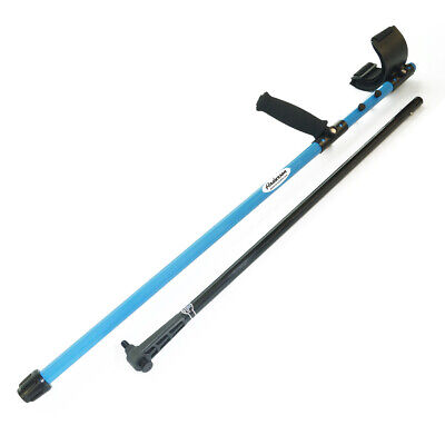 Anderson Garrett Metal Detector Blue Aluminum Regular Shaft with Lower Rod 0822