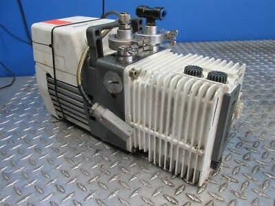ALCATEL LEROY SOMER Pascal 2021 Sd Rotary Vane Vacuum Pump Dual Stage D 07