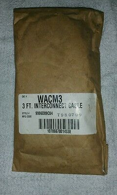 *Brand New* WACM3 3 Ft. Interconnect Cable