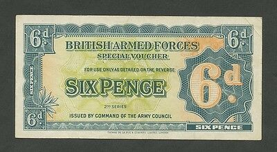 BRITISH ARMED FORCES - 6d  1948  Krause.M17a  ( Banknotes )