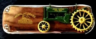 The Franklin Mint John Deere Knife With Case (IN:226)