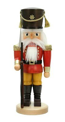 Large Red Soldier Nutcracker 32-819 Christian Ulbricht (Made in Germany)