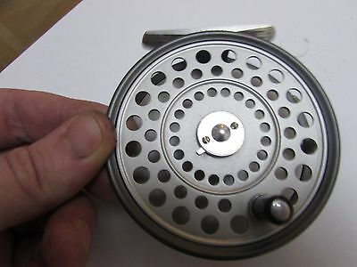 excellent barely used vintage hardy  princess trout fly fishing reel 3.5""