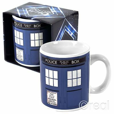 New Doctor Who TARDIS Mug Coffee Cup Tea Sign Official Licensed