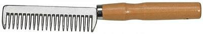 BUSSE Mane Comb ALU zum Forgiven with wooden handle Janitorial supplies