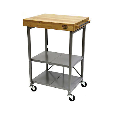 New Bradley Smoker Trolley Cart - Foldable Stand for any BBQ or Smoker Appliance