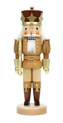 Natural Gold Prince Nutcracker 32-326 Christian Ulbricht (Made in Germany)