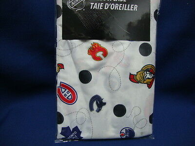 New NHL Hockey 7 Canadians teams Logos 2 two 20 x 30 inches Pillowcases (1 pair)