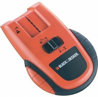 Black + Decker BDS300 3-in-1 Includes Stud, Pipe And Live Wire Detector
