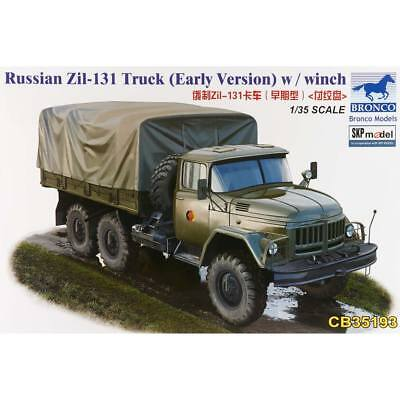 NEW Bronco Models 1/35 Russian Zil-131 Truck w/Winch 35193
