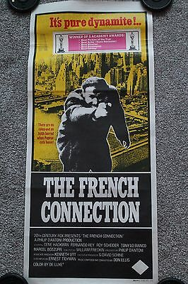 The French Connection (Original Australian Daybill Poster)