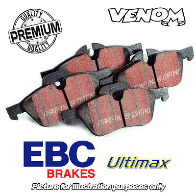 EBC Ultimax Rear Brake Pads Vauxhall Astra Coupe 2.0 Turbo (00-05) DP1186