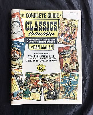 The Complete Guide To Classics Collectibles By Dan Malan 1991 High Grade