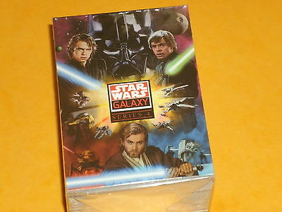 STAR WARS 'GALAXY Series 4' Complete Base Set Of 120 Trading Cards All Artwork!