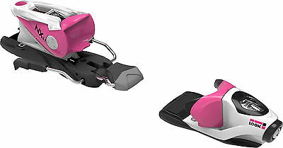 Look NX 11 Ski Bindings (Pink/White, 100mm) Mens Unisex All Mountain Freestyle