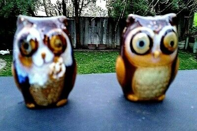 Brown Owl Salt and Pepper Set - Gibson - Made In China