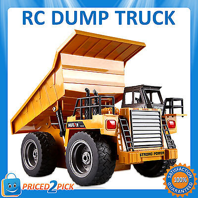 Remote Control RC Dump Truck Contruction Car Vehicle Electric 2.4ghz Toy Digger