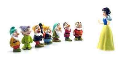Snow White and The Seven Dwarfs PVC Cake Toppers