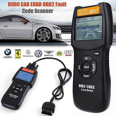 Universal V-2017 OBD2 EOBD CAN CAR Fault Code Reader diagnostic scan tool D900